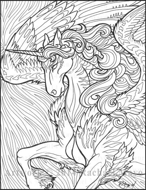 the coloring book for adults you ve probably never colored it wave unicorn by rachaelm5 deviantart again i ve