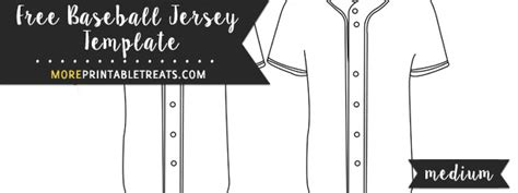 Baseball Jersey Template Medium Free Baseball Jersey Template