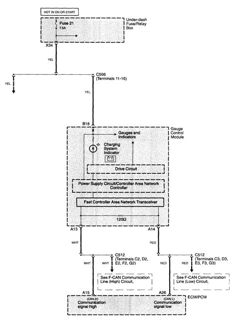 acura tl 2006 wiring diagrams charging system