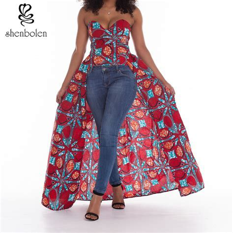 2018 summer African dresses for women Clothing style