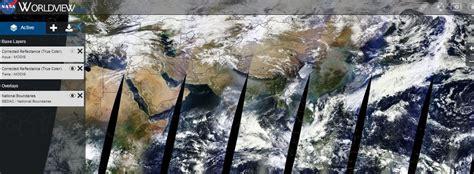 imagenes satelitales worldview nasa worldview im 225 genes por sat 233 lite de la tierra casi en