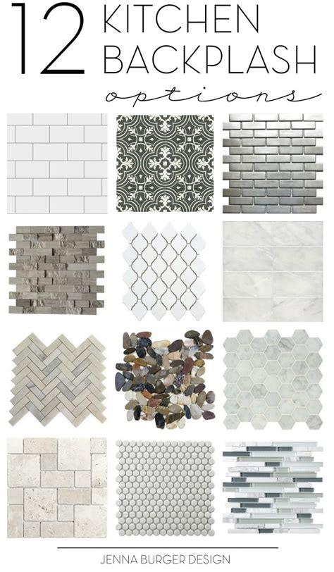 Kitchen Backsplash Tile Choices Kitchen Tile Backsplash Options Inspirational Ideas