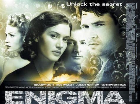 film z enigma enigma movie poster 3 of 3 imp awards
