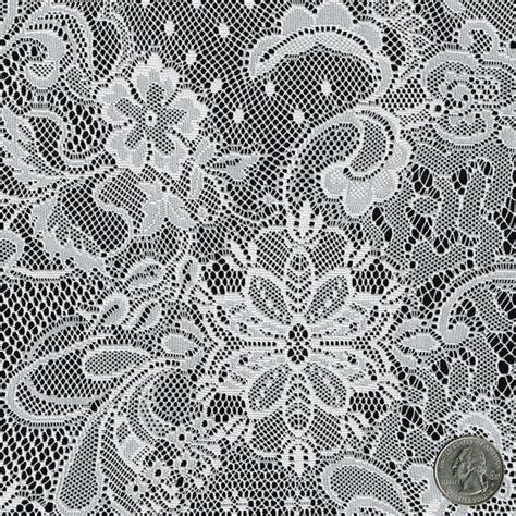 lace curtain material mistique vintage off white lace fabric by the yard table