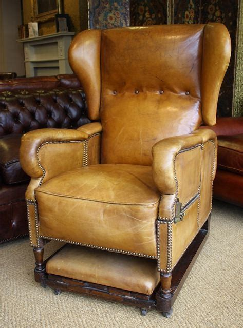 foot son reclining adjustable leather chair leather chairs  bath chelsea design quarter