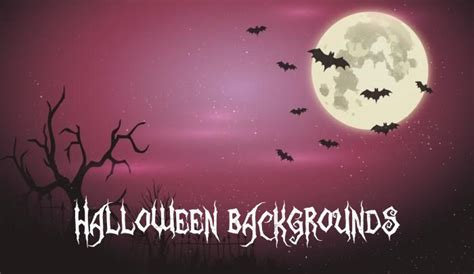 20 free halloween backgrounds and poster templates super