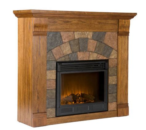 oak finish electric fireplace antiqued oak finish electric fireplace page 1