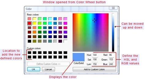 custom color creating custom colors