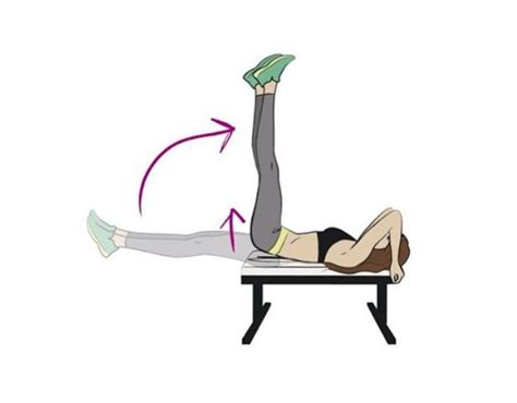 leg raise on bench your morning abs workout for strong abs all day