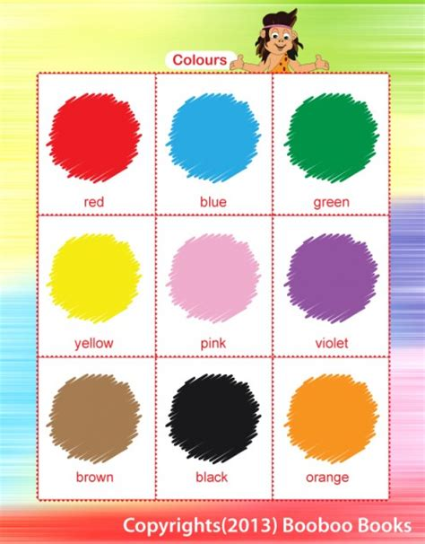 teaching colors hubpages