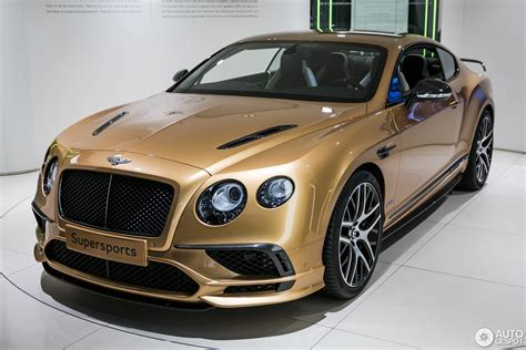 bentley continental supersports geneva 2017 bentley continental supersports