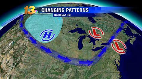 weather pattern video changing weather patterns finally