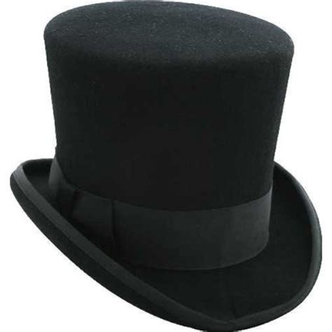 Victorian Decorations For The Home by Black Mad Hatter Top Hat 100 Wool Victorian Alice In