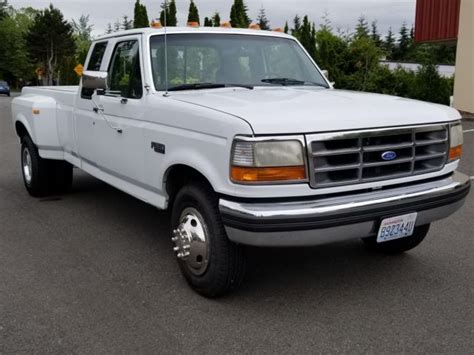 ford f350 truck bed for sale 1993 ford f 350 long bed dually xlt only 50 000 miles for