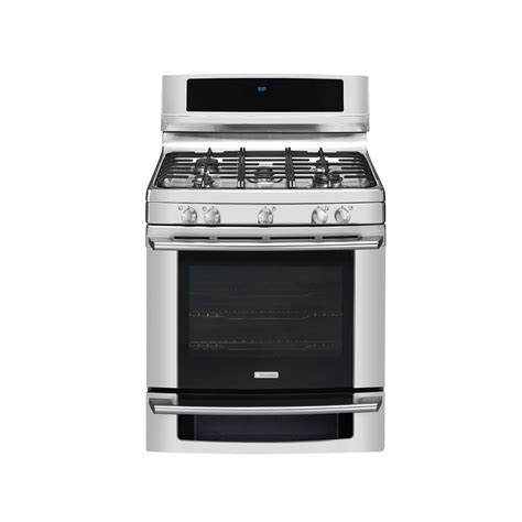 Oven Gas Electrolux electrolux ew30gf65gs 30 quot gas range stainless steel sears outlet