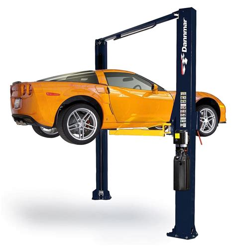 2 post car lift dannmar d 10acx two post car lift