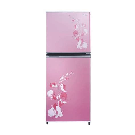 Kulkas 2 Pintu Rusak jual sharp sj 235md fp pink kulkas 2 pintu harga kualitas terjamin blibli