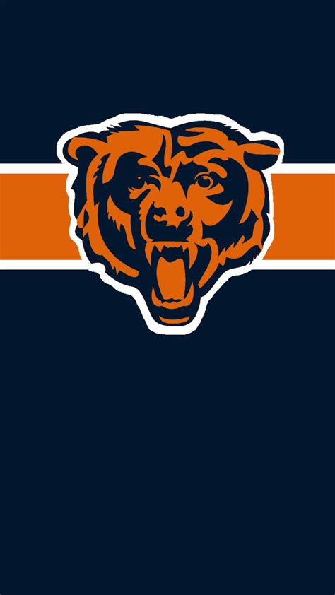 Chicago Bears chicago bears iphone wallpaper 77 images