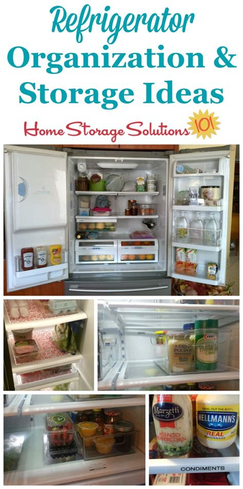 home storage solutions 101 real life refrigerator organization storage ideas