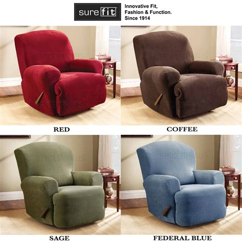 Covers For Reclining by Surefit 1 2 3 Seater Armchair Cover Protector