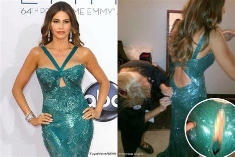 Sofia Vergara Wardrobe Picture by Sofia Vergara Shows Clad Derriere After Wardrobe At Emmys