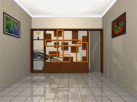 desain partisi interior rumah minimalis desain partisi sekat ruang properti minimalis