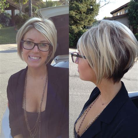 growing out pixie to stacked aline bob short a line bob short hair pinterest