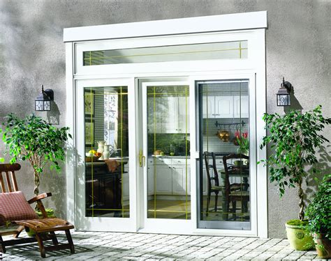 and patio door options