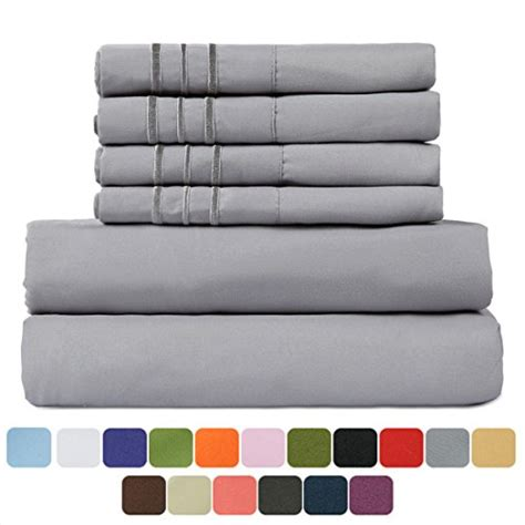 hypoallergenic couch tastelife tastelife 105 gsm deep pocket bed sheet set brushed hypoallergenic microfiber 1800