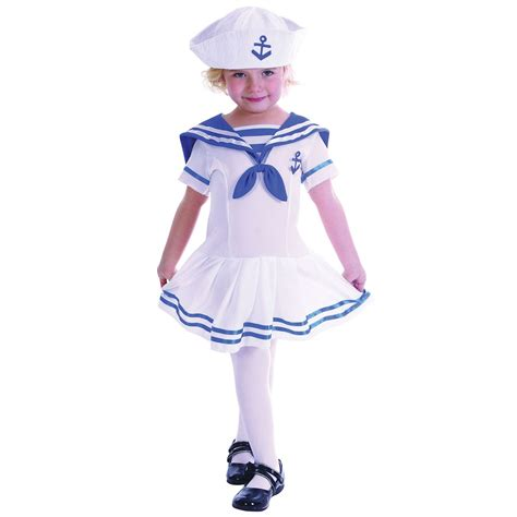 Fancy Dress 2 by Marine Sailor Navy Toddler Boys Fancy