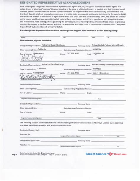 authorization letter bank of america 3rd authorization letter for bank of america 28 images