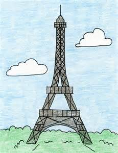 Jim Dine Flowers - eiffel tower art projects for kids