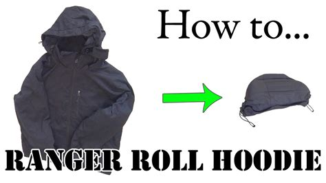 Jacket Hoodies My Trip army hack ranger roll a hoodie or hooded jacket efficient packing for travel