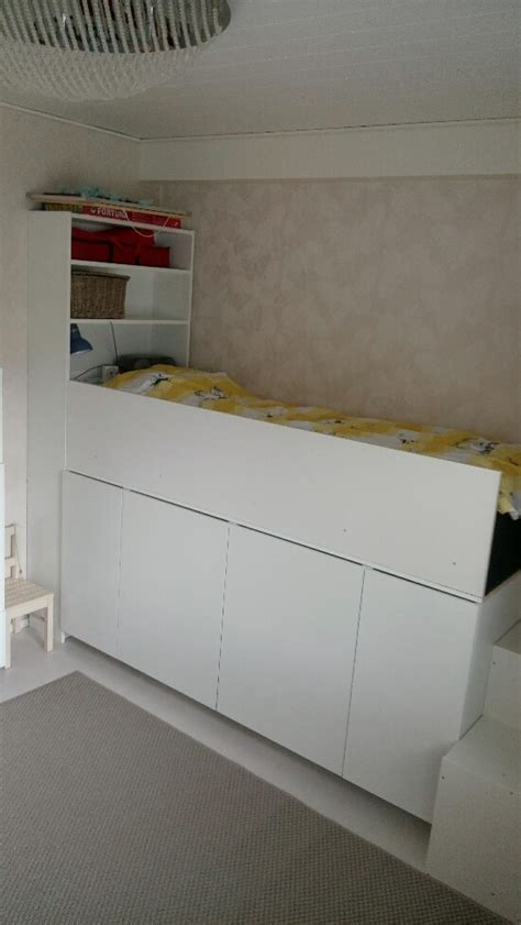 ikea cabinet bed 2 ways to hack a kid s storage bed ikea hackers