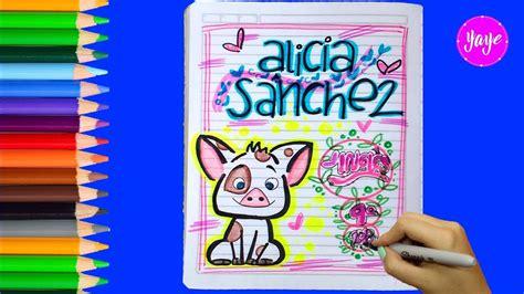 ideas creativa para dibujarpara el amor ideas para marcar cuadernos c 243 mo dibujar caratulas