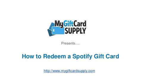 How To Redeem Gift Cards - how to redeem a spotify gift card