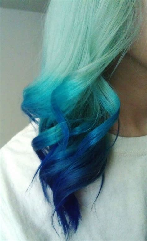 is ombre blue hair ok for older women 53 best ideas about love this colors on pinterest my
