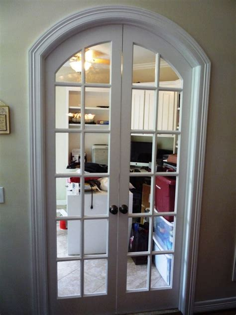 Custom Arched French Doors That We Built To Close Off Any Archway Doors Interior