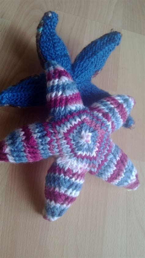 knitted starfish pattern knit starfish knitting and other crafts
