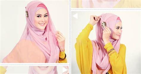 Cara Memakai Jilbab Segi Empat Formal cara memakai jilbab segi empat terbaru til memikat