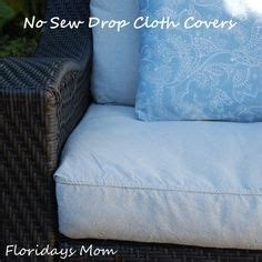 No Sew Patio Cushions by Diy Tutorial For Recovering Outdoor Cushions With