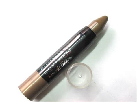 Maybelline Fashion Brow Pomade Crayon Eyebrow Pensil Alis maybelline new york fashion brow pomade crayon brown review makeupandbeauty