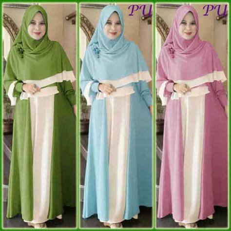 Baju Muslim Jumbo baju muslim tania jumbo y1042 model busana gamis terbaru
