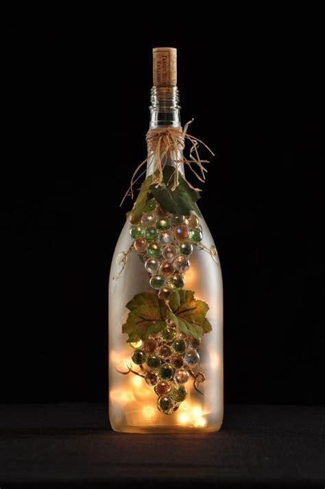 wine bottle ls crafts 231 best wine bottle lights images on pinterest glass