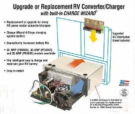 pd4635 35 amp converter upgrade section