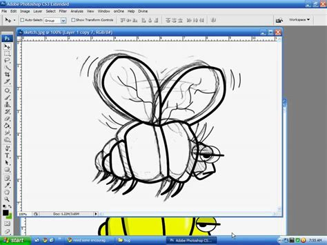coloring page in photoshop using photoshop to convert drawing to line and
