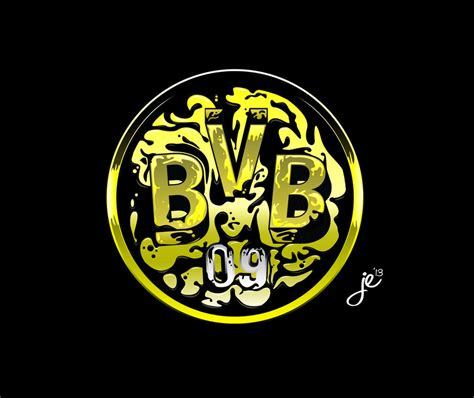 T Shirt Kaos 3d Ynwa bvb 09 borussia dortmund logo vector by zackbag on