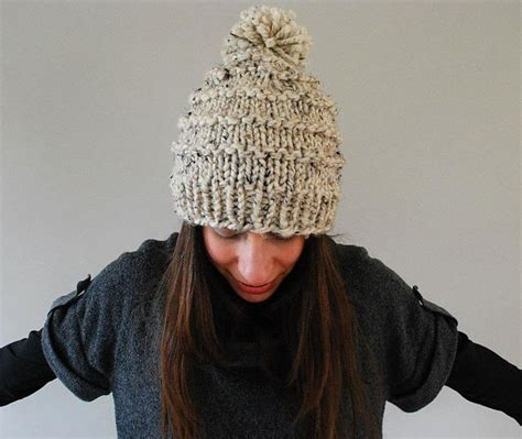 knitting pattern for hat in chunky wool 17 best ideas about knit hat patterns on