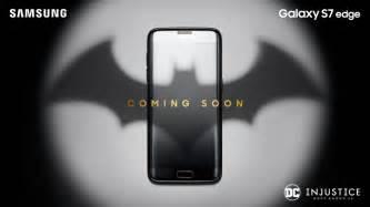 Harga Samsung S7 Limited Edition Batman potential samsung galaxy s7 edge batman edition teasers