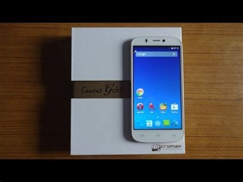 themes for micromax canvas gold a300 micromax canvas gold a300 unboxing white gold youtube